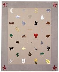 quilt painting by annette lemieux