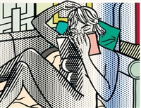 nude reading (c. 288) by roy lichtenstein
