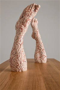 brain legs by jan fabre