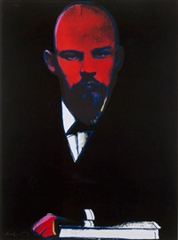 lenin by andy warhol
