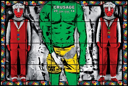 crusade by gilbert george