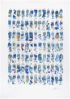 tubes (bleues) by arman