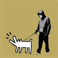 choose your weapon - khaki by banksy