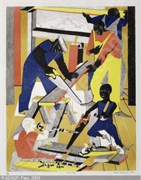 workshop by jacob lawrence