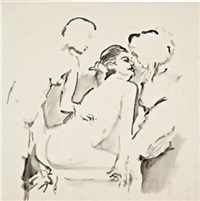 untitled #5 by cecily brown