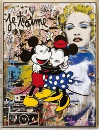 life is beautiful by mr. brainwash