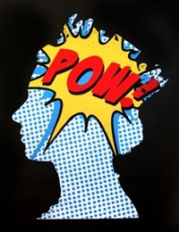 elizabeth (pow) by mr. brainwash