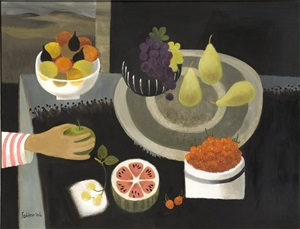 stealing an apple by mary fedden