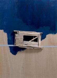 pompidou plan maquette no 58 by tadashi kawamata
