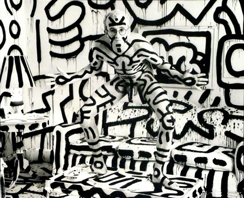 keith haring new york by annie leibovitz