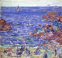 st. malo by maurice brazil prendergast