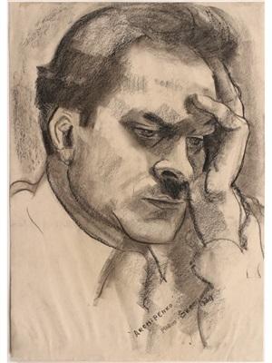 portrait of alexander archipenko by marion greenwood