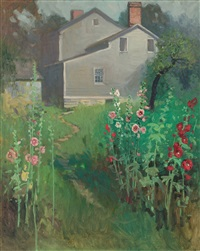 hollyhock time by victor coleman anderson