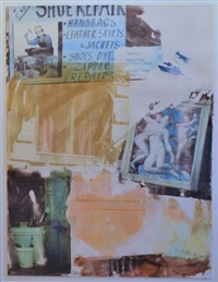 heartistic call (anagram) by robert rauschenberg