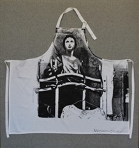 untitled (apron) by robert rauschenberg
