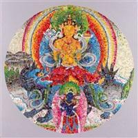 chakras no.3 by ye hongxing