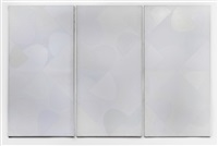 white out double (triptych) by sir terry frost