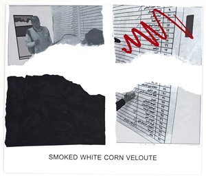 morsels and snippets: smoked white corn veloute by john baldessari