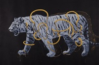 gold circle tiger 02 by ye linghan