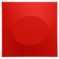 'un ovale rossi' by turi simeti