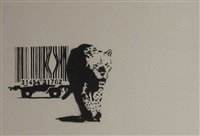 barcode signed by banksy