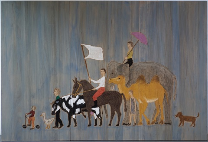 la grande parade by stephan balkenhol