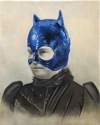 cat nana by mr. brainwash