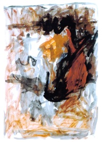adler, 3.iii 79 by georg baselitz