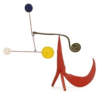 bushy-tailed red by alexander calder