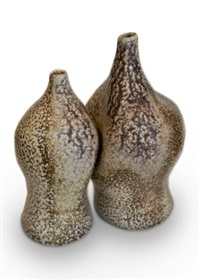 double vase by karen karnes