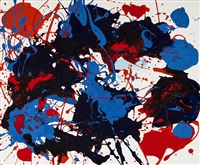 untitled (sfp94-16), 11 july 1994, santa monica (west channel road) by sam francis