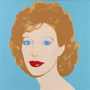 linda oxenburg by andy warhol