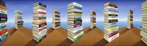 seaside reading by patrick hughes