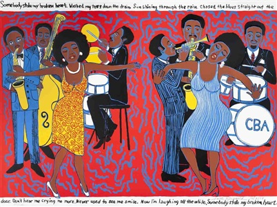rare posters- from the 1950s to date by faith ringgold