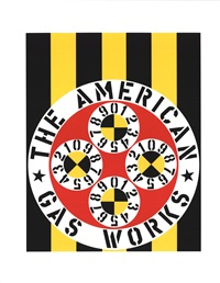 lot: 271 the american gas works by robert indiana