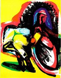 lot: 327 untitled composition by arne haugen sorensen