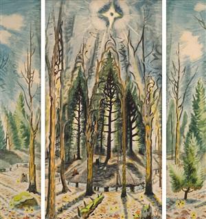 glory to god by charles ephraim burchfield