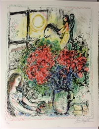 the ride by marc chagall