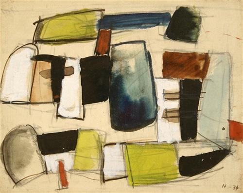composition by jean hélion