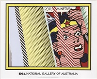 lot: 214 reflections on minerva by roy lichtenstein