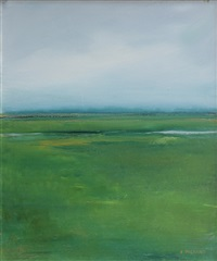green landscape by anne packard