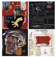 print series by jean-michel basquiat
