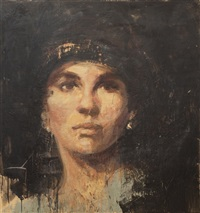an unnamed suffragette by tony scherman