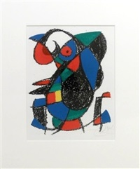 lithographie ii (xiii) by joan miró