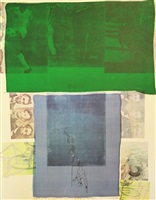 shoot from the main stem by robert rauschenberg