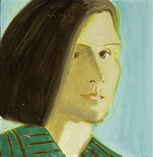 nathlie by alex katz