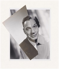 marriage (film portrait collage) lxxviii by john stezaker
