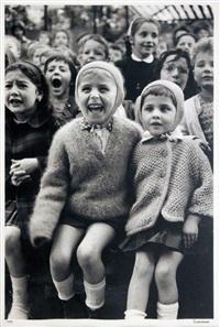 children at a puppet theatre iii by alfred eisenstaedt