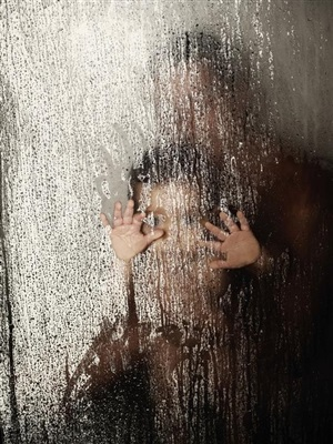brazil. rio de janeiro. 2009. marion and atlas in the shower. by christopher anderson