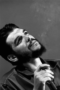 cuba. havana. 1964. che guevara. by elliott erwitt